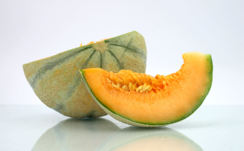 Charentais Melon Cut