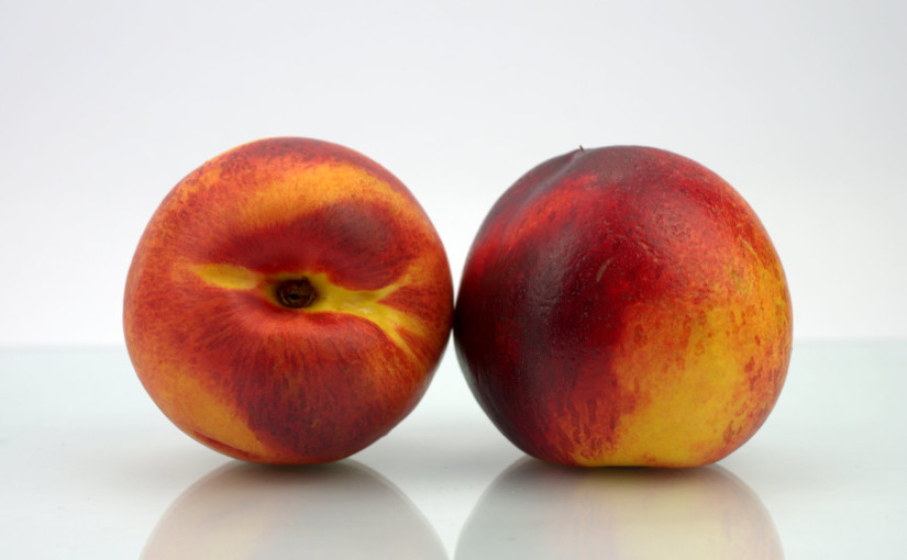 Two Nectarines