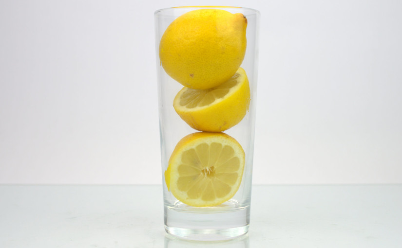 Lemons in Glass