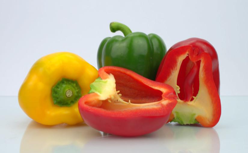 Peppers Cut